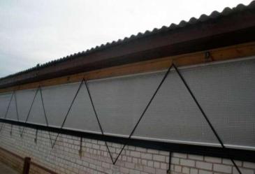 Система вентиляционных штор