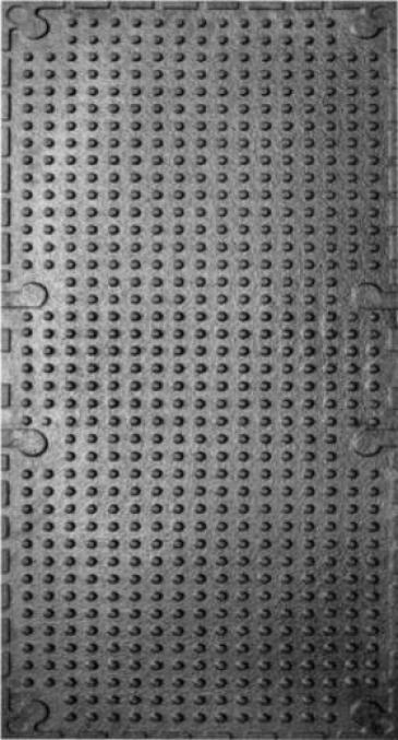 Мат резиновый 1290х560