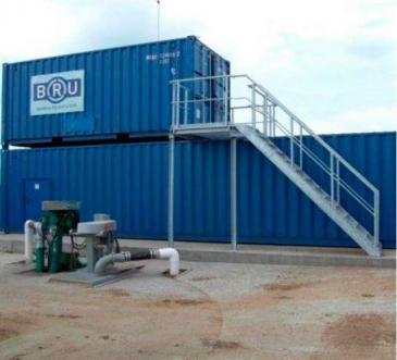 Фильтрационно-сушильная установка для производства (восстановления из навоза) подстилки для КРС BAUER group BRU 2000