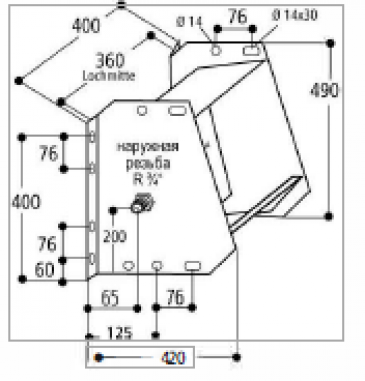 Поплавковая поилка Модель 600