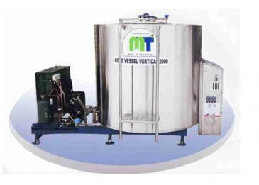Охладители молока закрытого типа, серия «Cold Vessel Vertical»