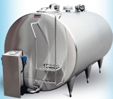 Танки-охладители молока Milkplan: модель IC (закрытого типа)